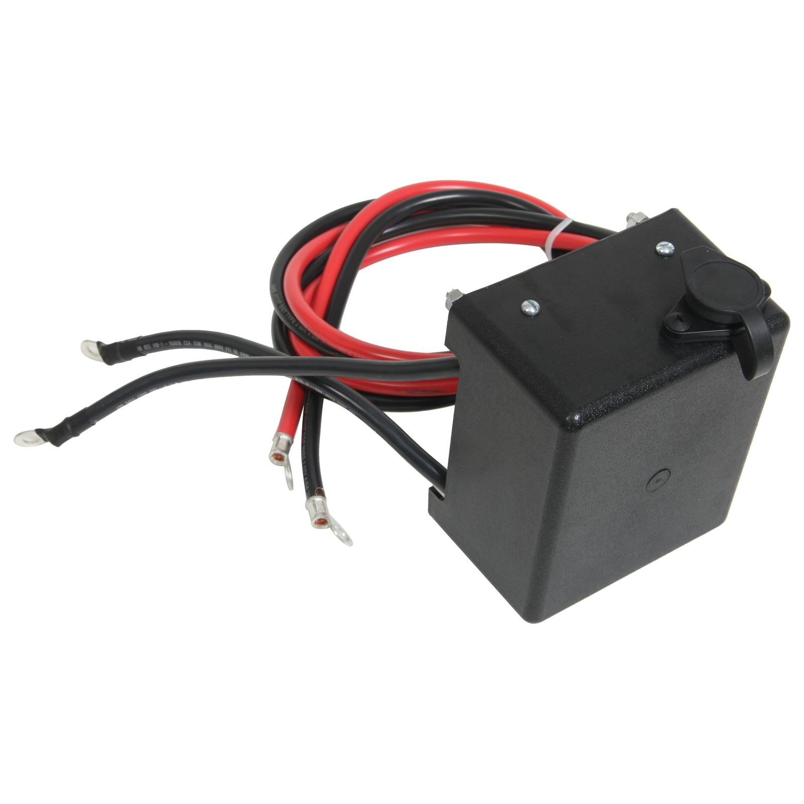 hight resolution of ramsey winch replacement part solenoid assembly 3 6 hp 12 volt rep 8 278155