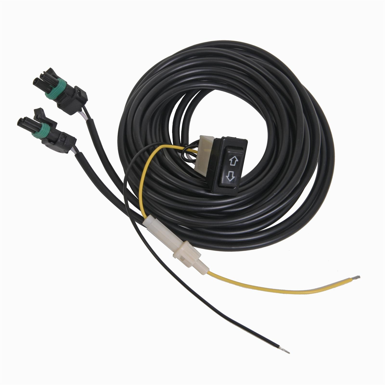 Summit Racing® Electric Exhaust Cutout Wiring Harness 670152 1 EBay