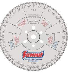 summit racing cam degree wheels sum g1057 free shipping on orders over 99 at summit racing [ 900 x 888 Pixel ]
