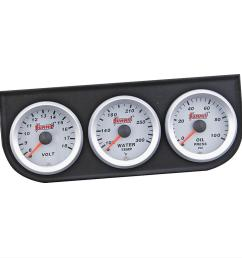 summit racing electrical analog gauge kits sum g2889 free shipping on orders over 99 at summit racing [ 980 x 980 Pixel ]