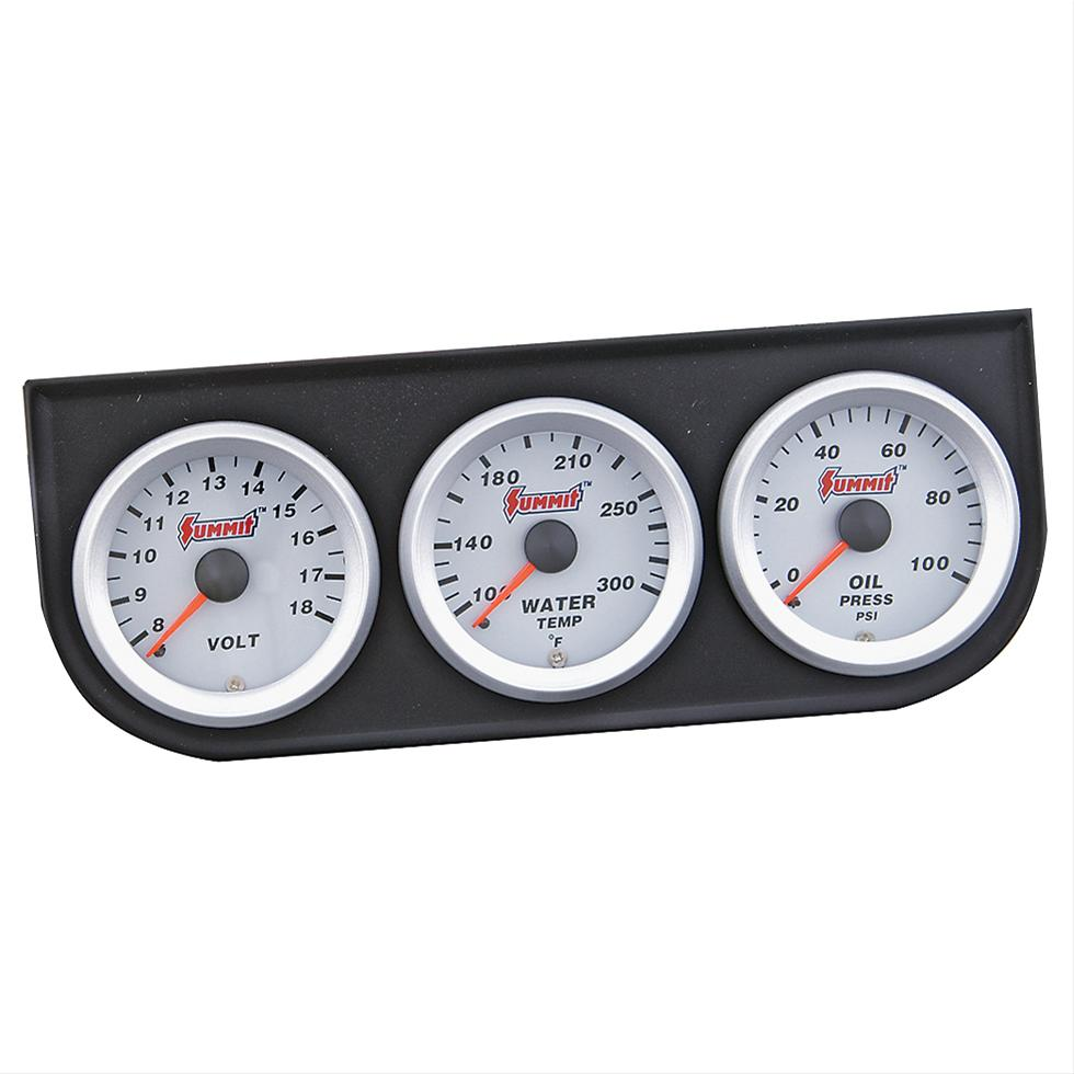 hight resolution of summit racing electrical analog gauge kits sum g2889 free shipping on orders over 99 at summit racing