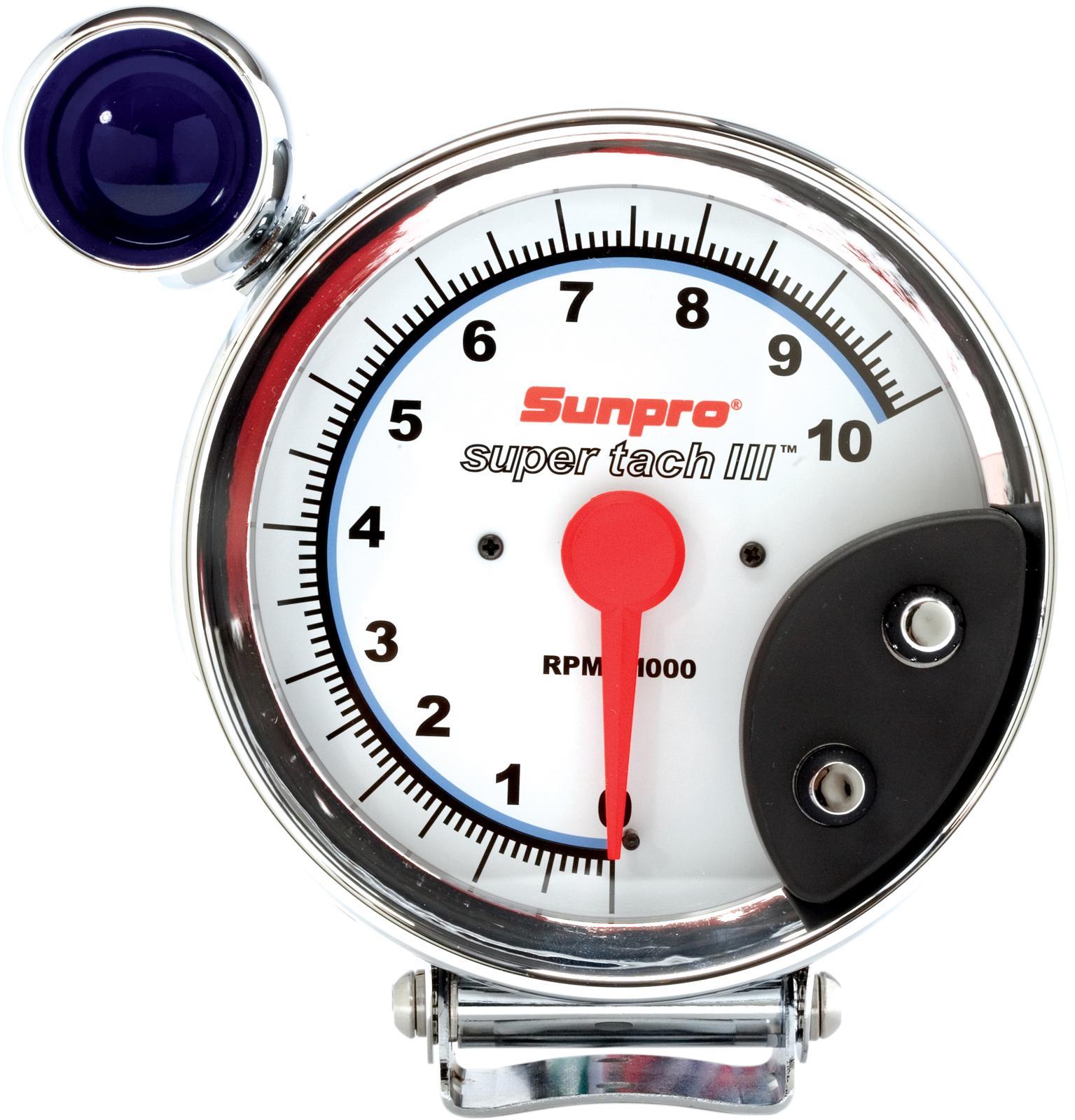 sunpro super tach 3 wiring diagram honda accord parts sun iii tachometers cp7914 free