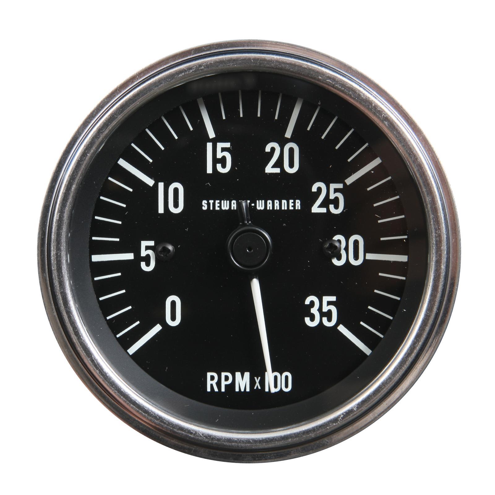 stewart warner volt gauge wiring diagram lennox thermostat tach