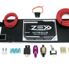 Nitrous Purge Wiring Diagram Volvo 240 1992 Zex Oxide Bottle Heater 1 20 Lb Bottles 12 V Dc