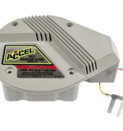 accel gm hei in cap super coils 140003 free shipping on orders sbc hei distributor wiring diagram accel gm hei wiring [ 1600 x 1200 Pixel ]