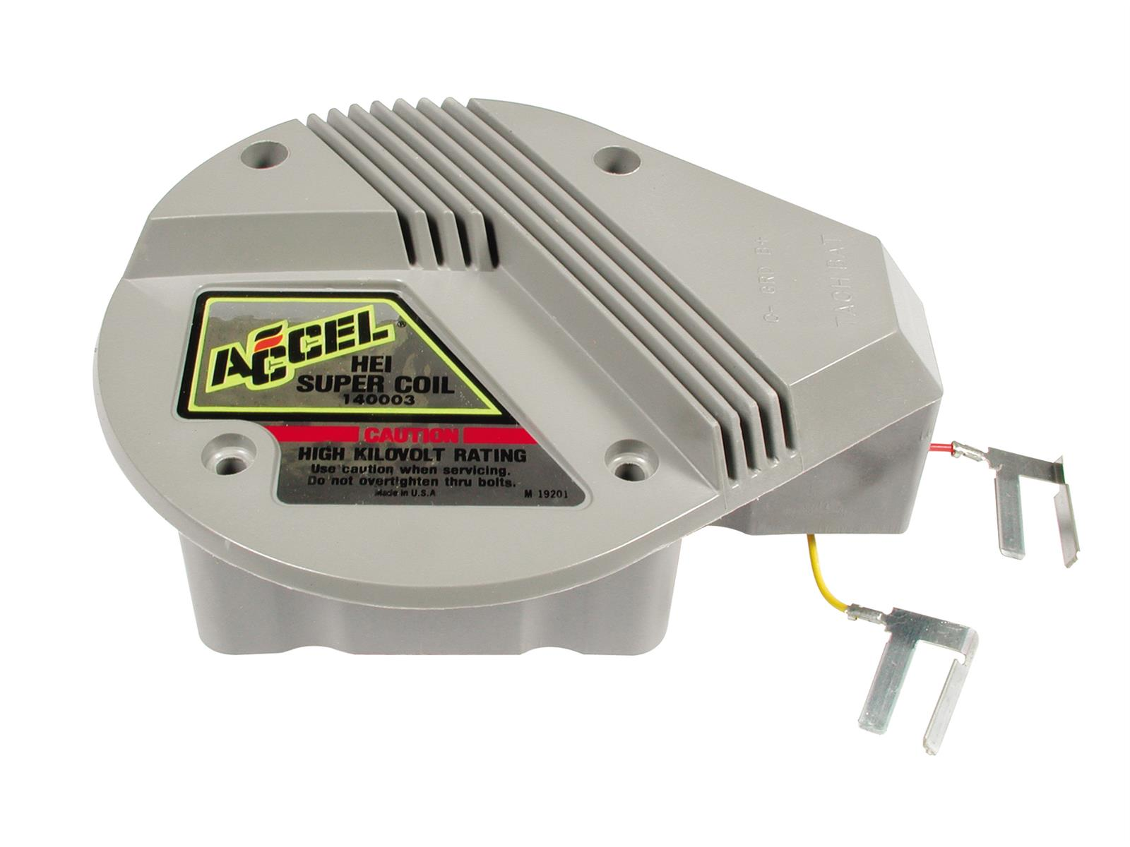 hight resolution of accel gm hei in cap super coils 140003 free shipping on orders sbc hei distributor wiring diagram accel gm hei wiring