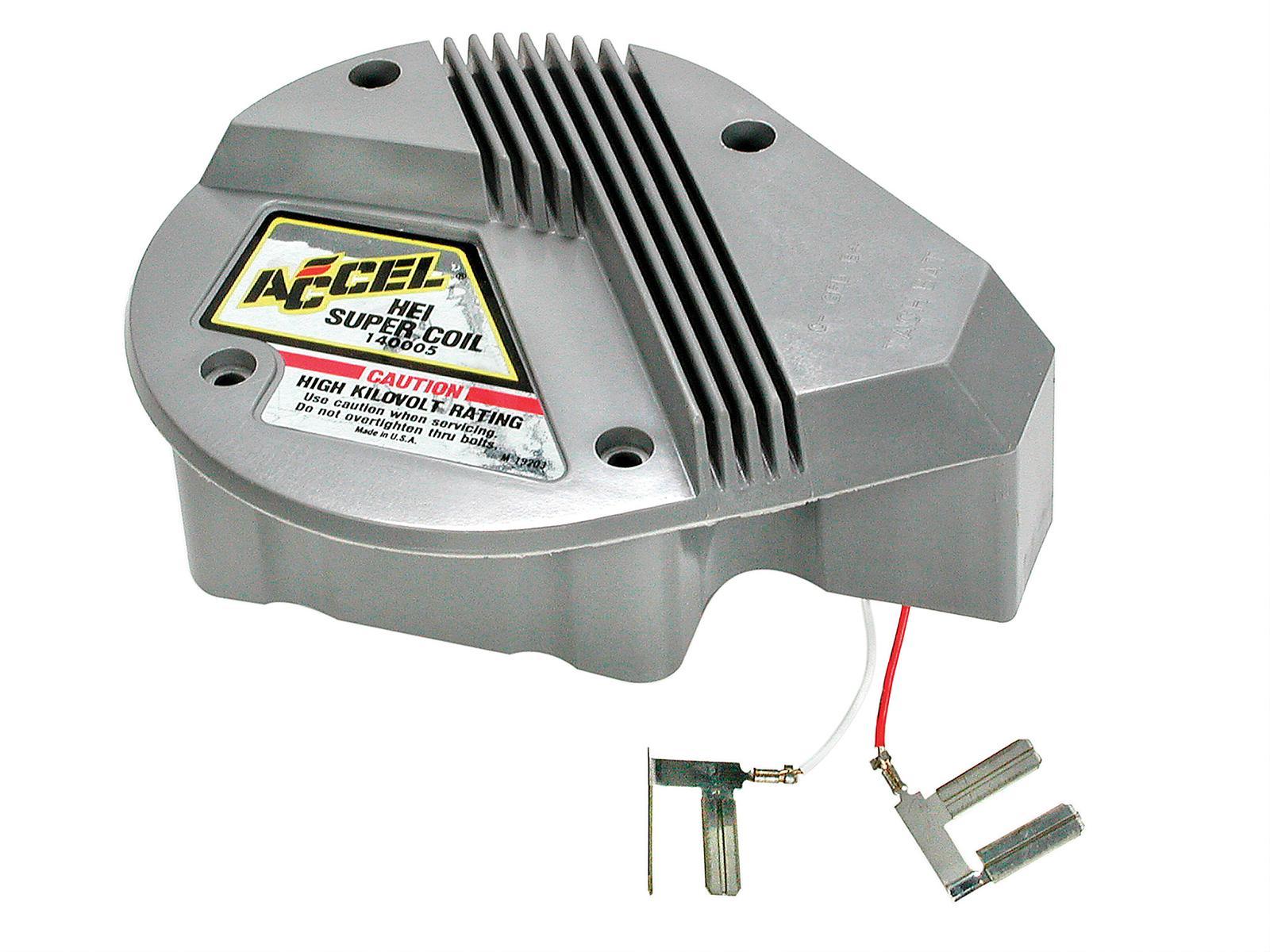 accel hei distributor wiring diagram ge profile refrigerator parts coil gm super in cap square epoxy gray