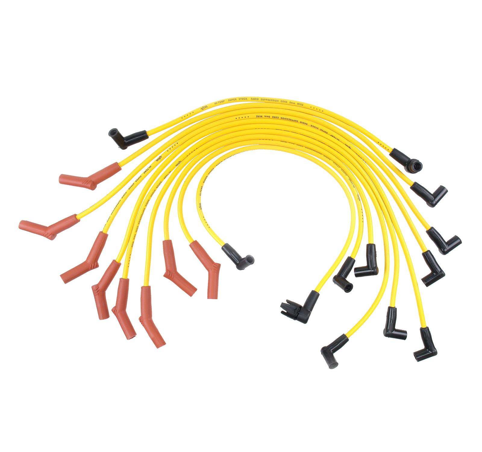 hight resolution of accel superstock 4000 series spark plug wire sets 4056 free shipping on orders over 99 at summit racing