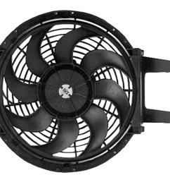 acdelco replacement electric cooling fan kits 15717423 free shipping on orders over 99 at summit racing [ 1600 x 1143 Pixel ]