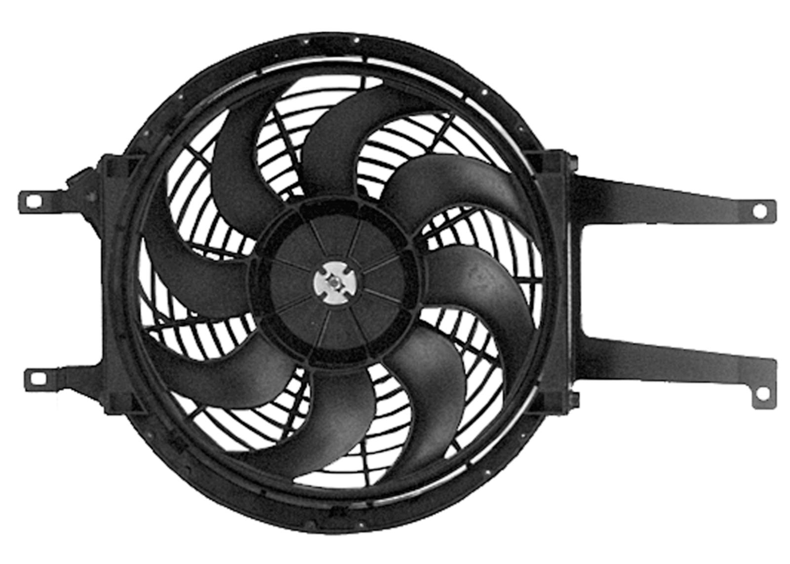 hight resolution of acdelco replacement electric cooling fan kits 15717423 free shipping on orders over 99 at summit racing