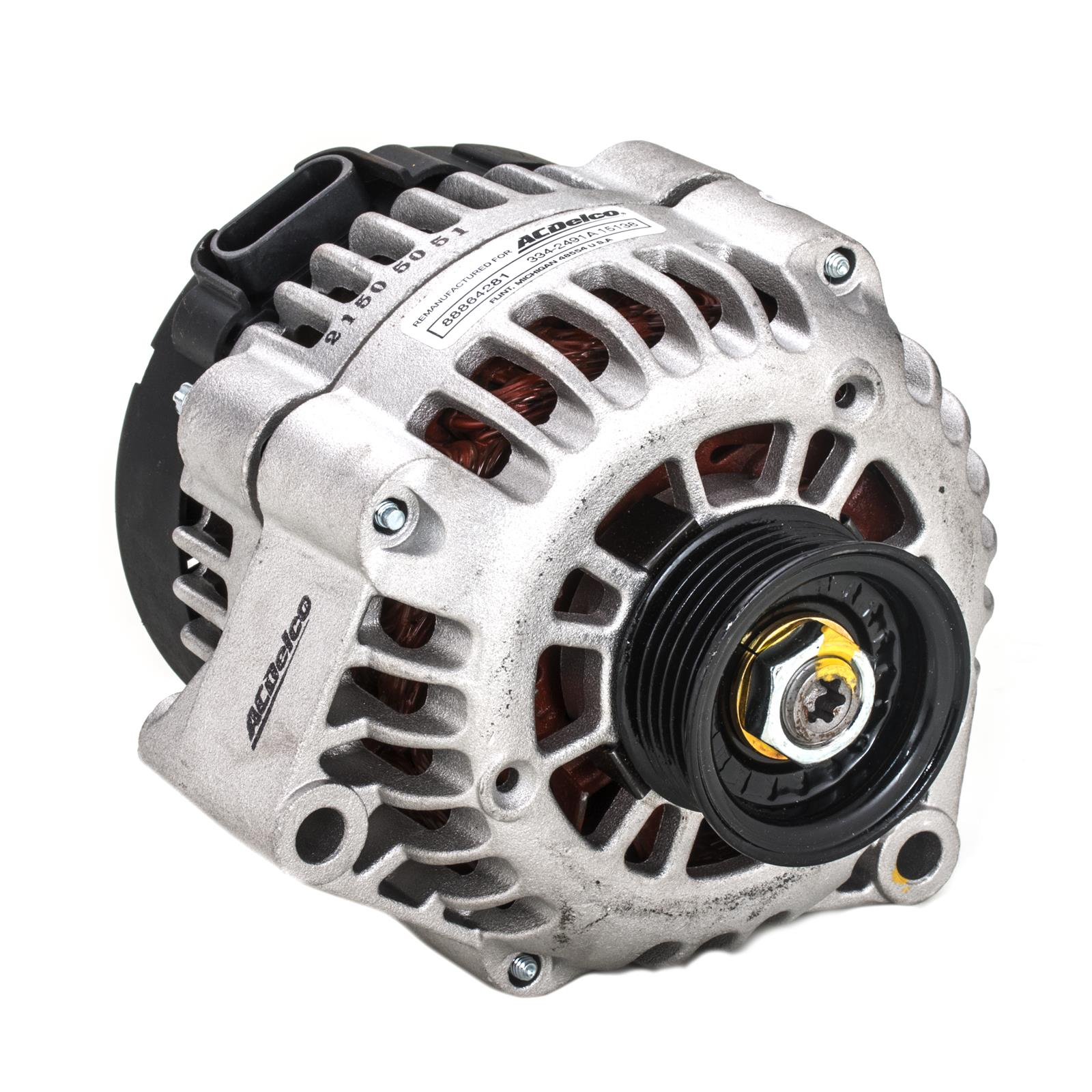 hight resolution of acdelco gm oe remanufactured alternators 88864281 free shipping on orders over 99 at summit racing