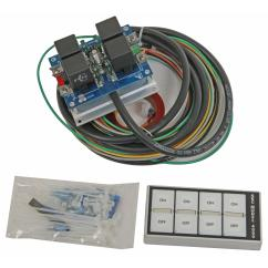 Auto Rod Controls 3701 Wiring Diagram Nutone Bathroom Fan Light Arc Flat Touch Switch Panel 4000d Ebay