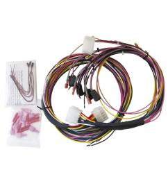 autometer universal gauge wiring harnesses 2198 free shipping on orders over 99 at summit racing [ 1500 x 1500 Pixel ]