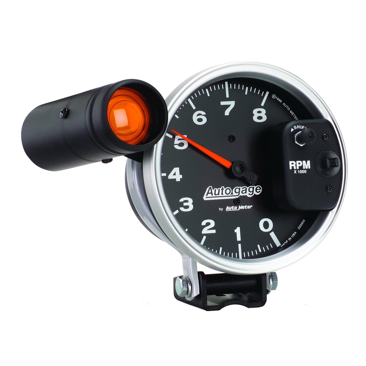 hight resolution of autogage monster shift lite tachometers 233905 free shipping on orders over 99 at summit racing