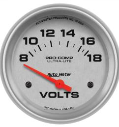 motorcycle voltmeter wiring diagram auto meter voltmeter wiring diagram autometer ultra lite analog gauges 4491 [ 1500 x 1500 Pixel ]