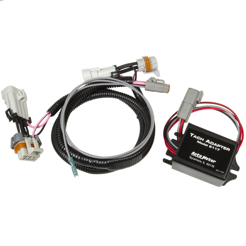 Auto Gauge Tachometer Wiring Diagram Pro Comp Auto Meter Tach