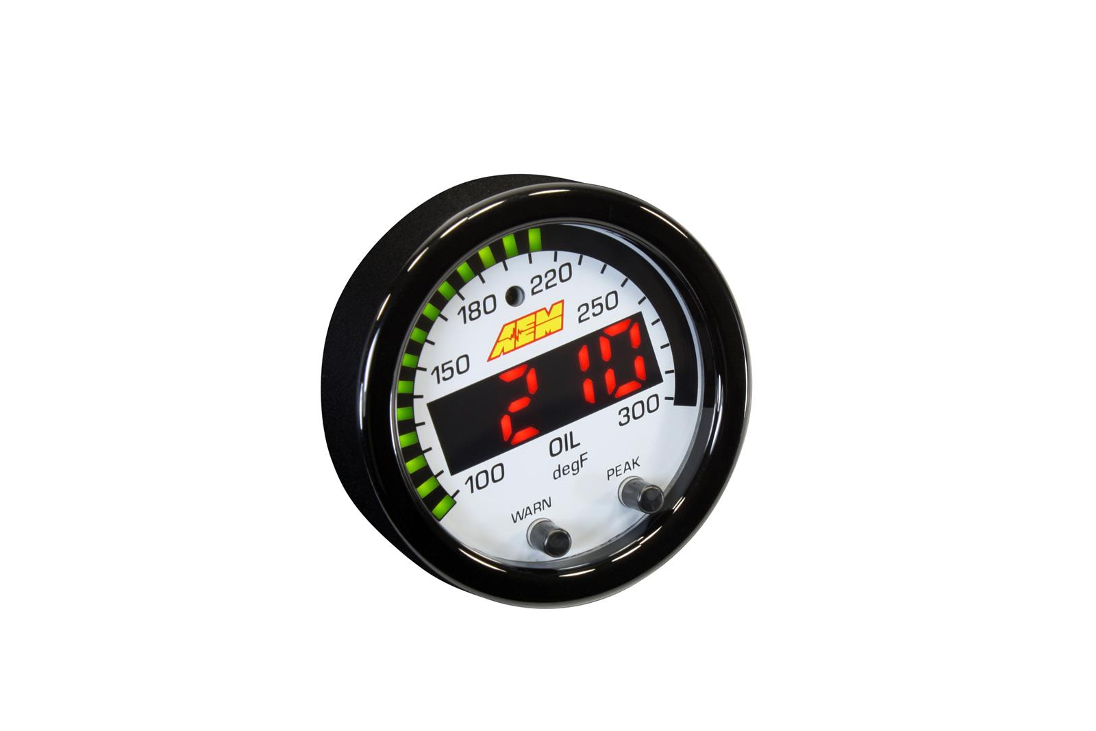 hight resolution of aem electronics x series temperature gauges 30 0302 free shipping on orders over 99 at summit racing