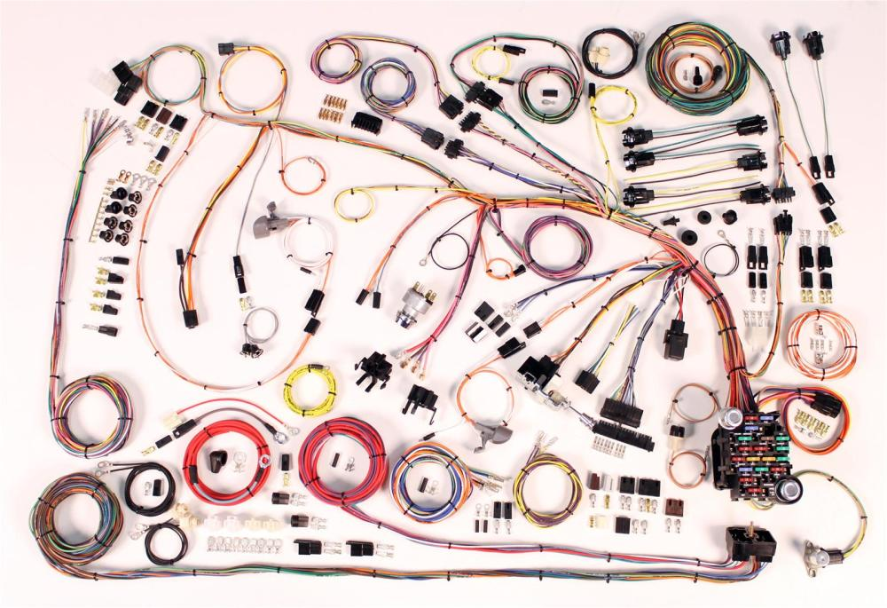 medium resolution of 1966 chevrolet impala american autowire classic update series wiring harness kits 510372 free shipping on orders over 99 at summit racing