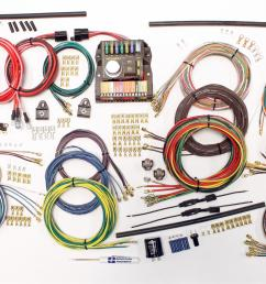 american autowire classic update series wiring harness kits 510419 free shipping on orders over 99 at summit racing [ 1600 x 1007 Pixel ]