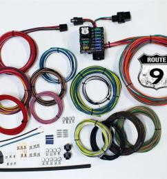 american autowire route 9 universal wiring systems 510625 free shipping on orders over 99 at summit racing [ 1600 x 1135 Pixel ]