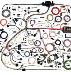 american autowire classic update series wiring harness kits 510634 free shipping on orders over 99 at summit racing [ 1600 x 1472 Pixel ]