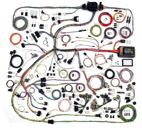 small resolution of american autowire classic update series wiring harness kits 510634 free shipping on orders over 99 at summit racing