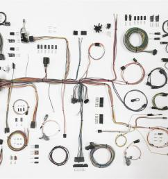 american autowire classic update series wiring harness kits 510645 free shipping on orders over 99 at summit racing [ 1600 x 1061 Pixel ]