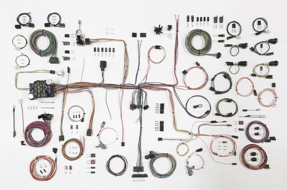 medium resolution of american autowire classic update series wiring harness kits 510645 free shipping on orders over 99 at summit racing