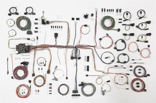 small resolution of american autowire classic update series wiring harness kits 510645 free shipping on orders over 99 at summit racing
