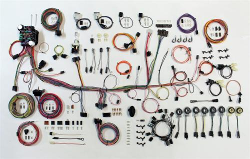 small resolution of american autowire classic update series wiring harness kits 510689 free shipping on orders over 99 at summit racing