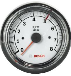 bosch sport ii tachometer gauges fst 7903 free shipping on orders over 99 at summit racing [ 1594 x 1600 Pixel ]