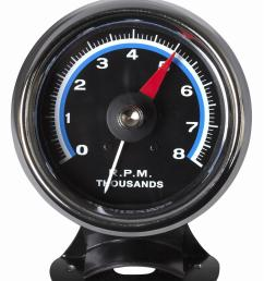 bosch retro line tachometer gauges fst8000 free shipping on orders over 99 at summit racing [ 1402 x 1600 Pixel ]
