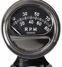 bosch retro line tachometer gauges fst8050 free shipping on orders over 99 at summit racing [ 1270 x 1600 Pixel ]