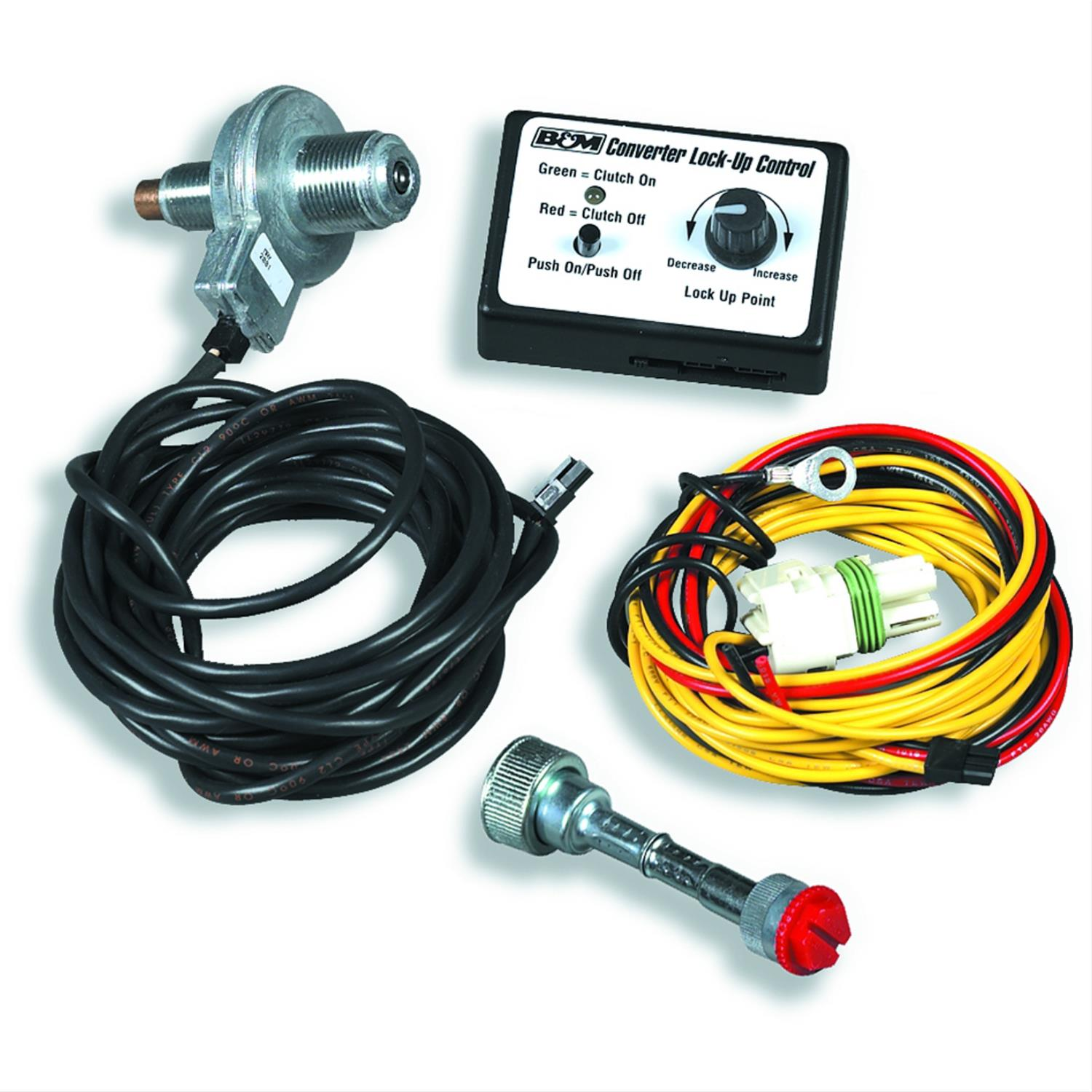 hight resolution of b m converter lockup controls 70244 free shipping on orders over 99 at summit racing