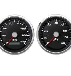 cal custom performance series analog gauge kits cal 220261401 free shipping on orders over 99 at summit racing [ 1600 x 856 Pixel ]