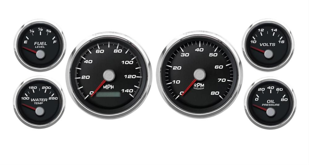 medium resolution of cal custom performance series analog gauge kits cal 220261401 free shipping on orders over 99 at summit racing