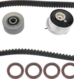 chevrolet aveo continental elite timing belt kits gtk0338 free shipping on orders over 99 at summit racing [ 1600 x 710 Pixel ]