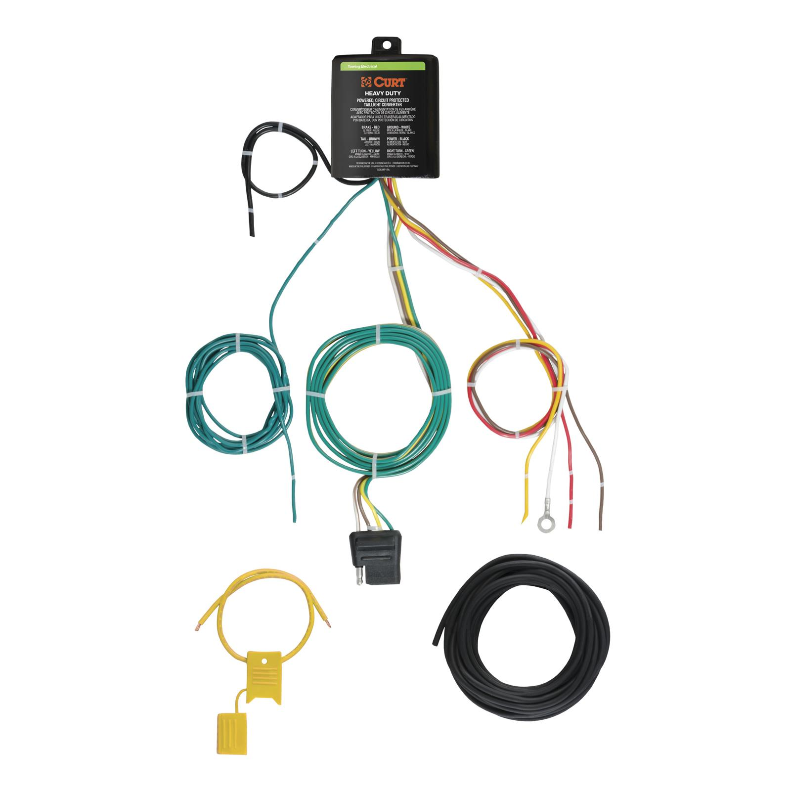 hight resolution of curt taillight converter wiring kits 59236 free shipping on orders over 99 at summit racing