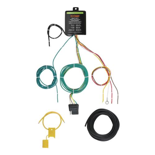 small resolution of curt taillight converter wiring kits 59236 free shipping on orders over 99 at summit racing