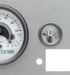 cj5 dakota digital vhx series direct fit analog gauge systems vhx55jkmhsb free shipping on orders over 99 at summit racing [ 1600 x 831 Pixel ]