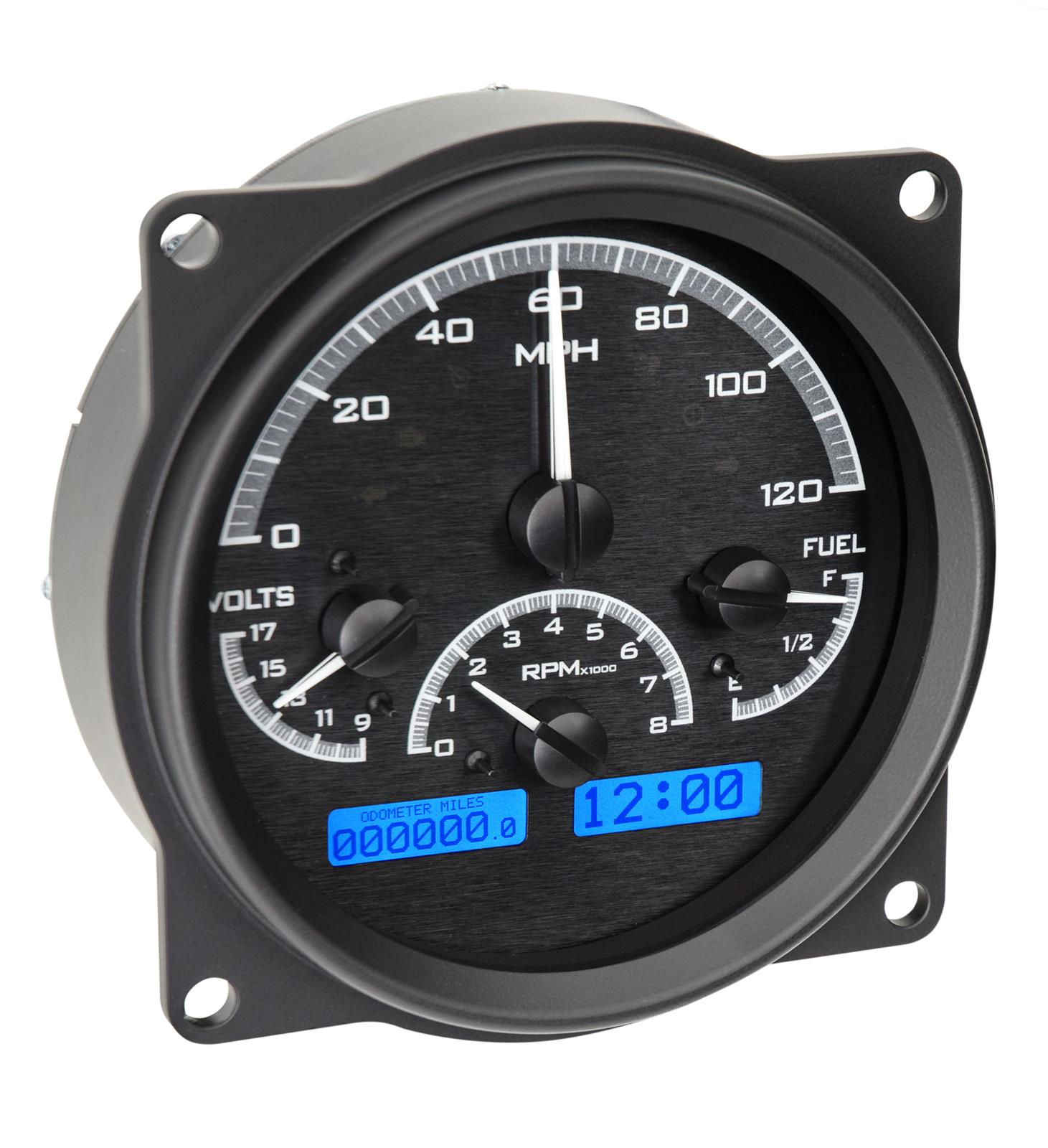 hight resolution of cj5 dakota digital vhx series direct fit analog gauge systems vhx 55j k r free shipping on orders over 99 at summit racing