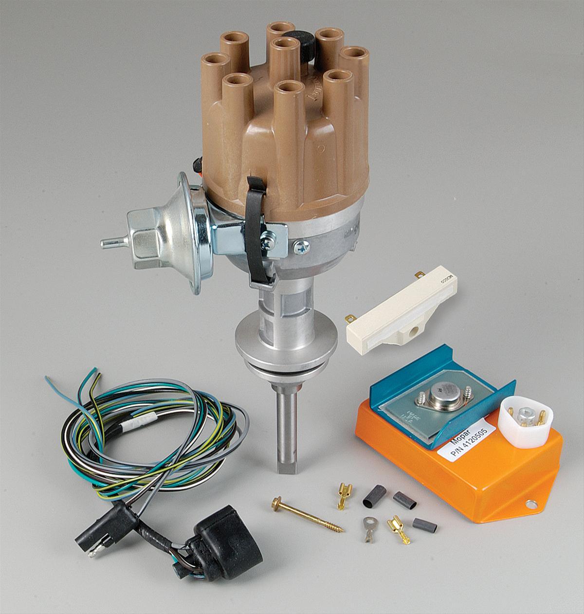 hight resolution of mopar performance electronic conversion kits with mopar performance electric distributor mopar electronic ignition wiring diagram