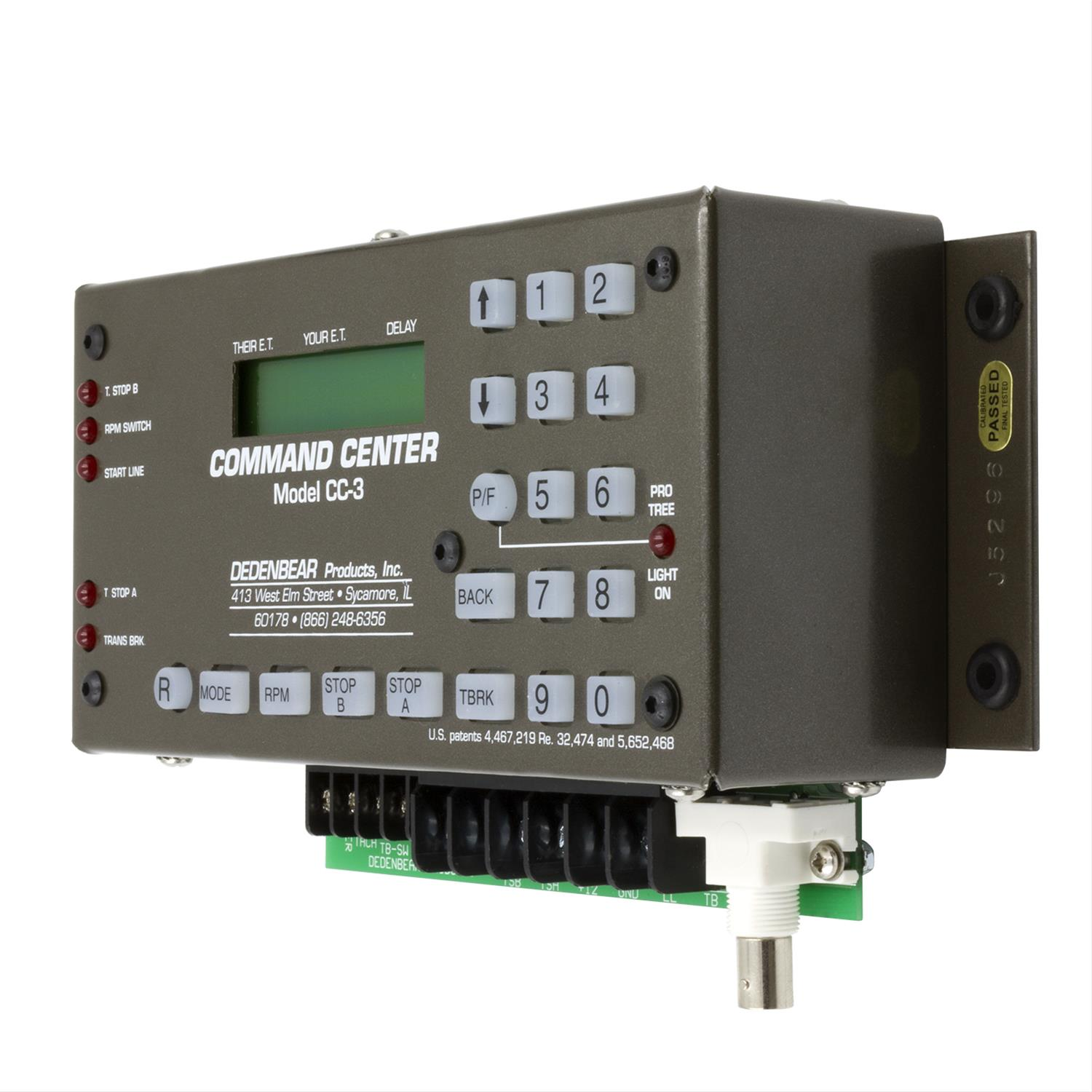 hight resolution of dedenbear command center delay boxes cc3 free shipping on orders over 99 at summit racing