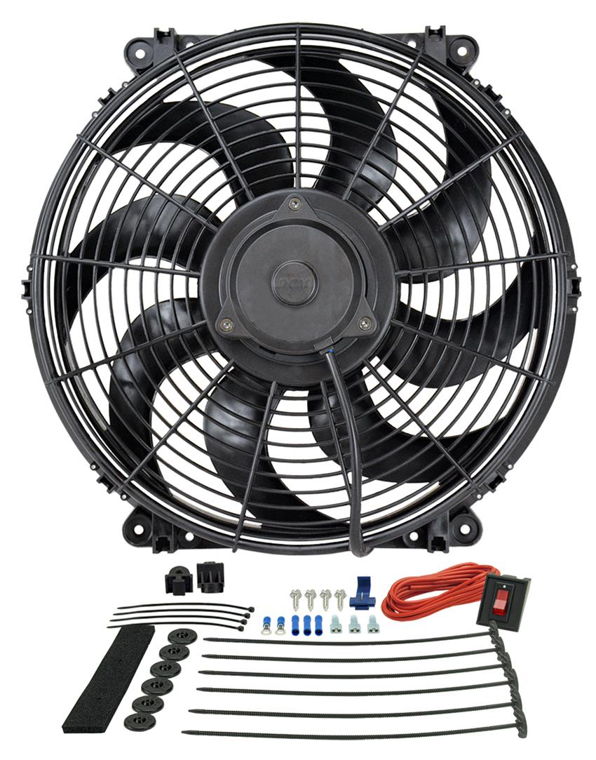 hight resolution of derale tornado universal fans 16516 free shipping on orders over 99 at summit racing