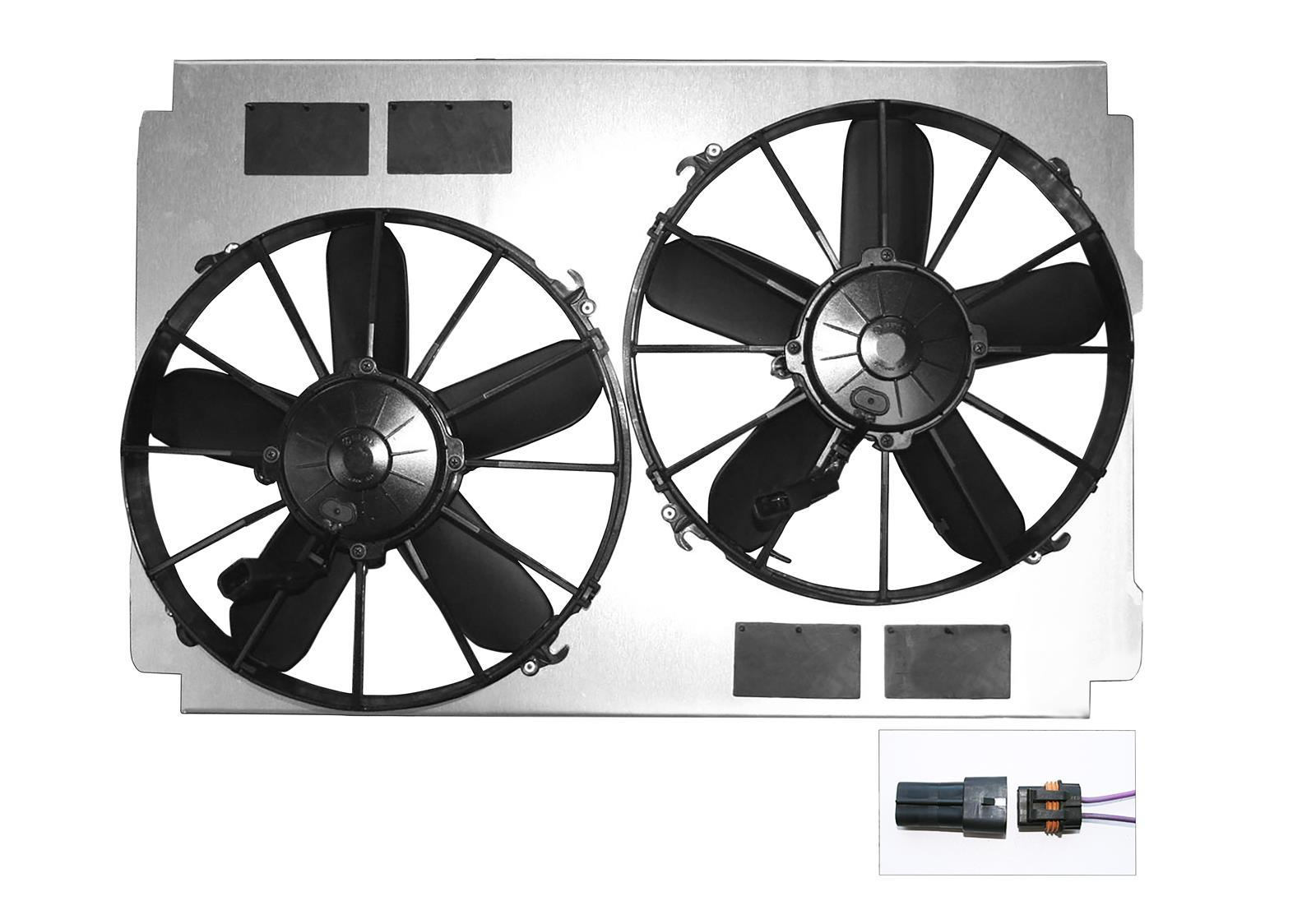 hight resolution of dewitts radiator electric fan upgrade kits 32 sp015 free shipping on orders over 99 at summit racing