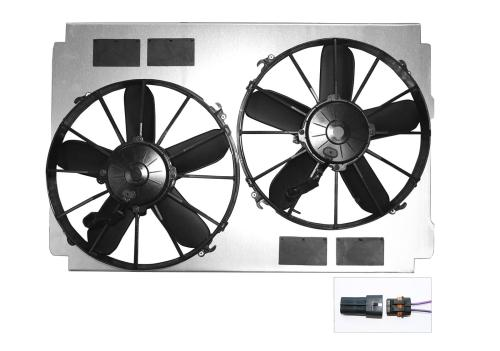 small resolution of dewitts radiator electric fan upgrade kits 32 sp015 free shipping on orders over 99 at summit racing