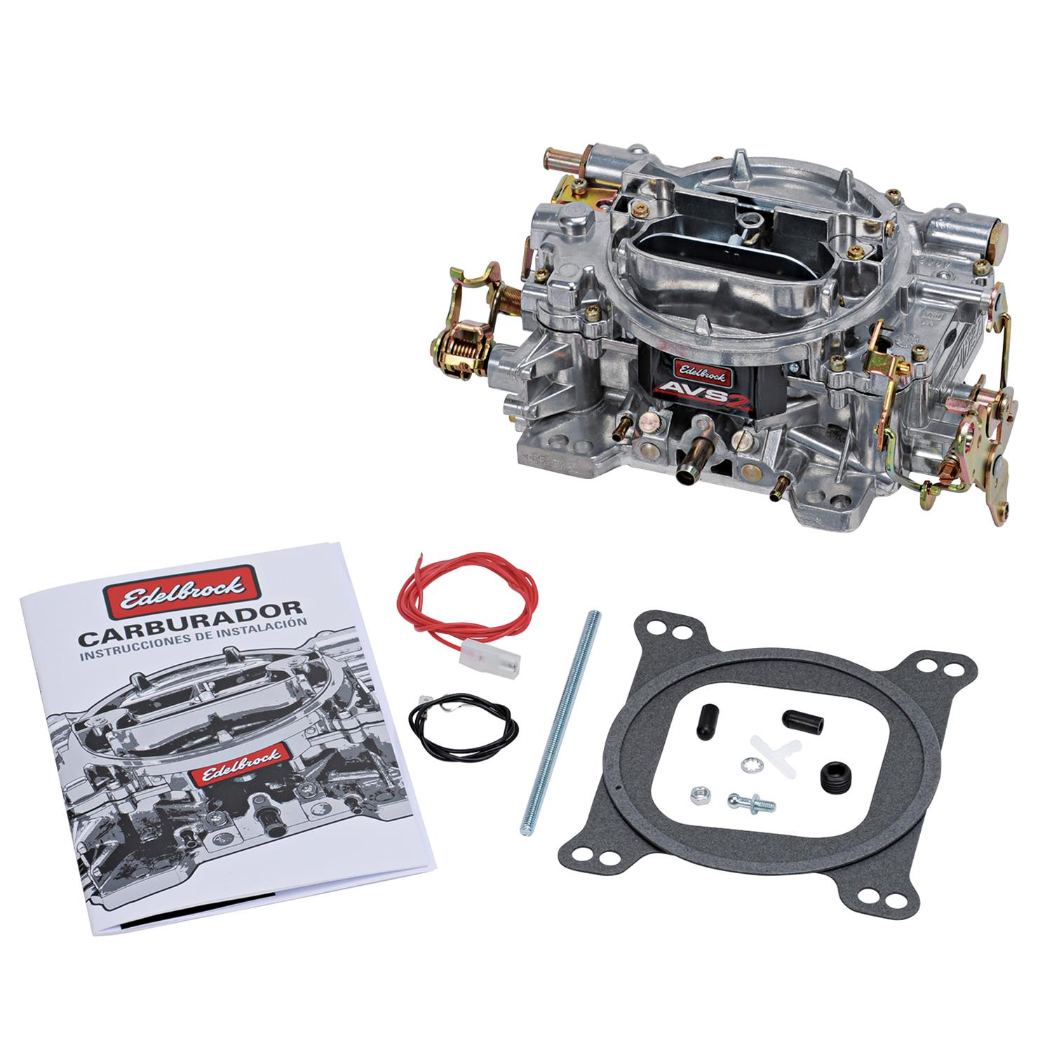 hight resolution of edelbrock avs2 series carburetors 1905 free shipping on orders over 99 at summit racing