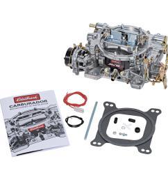 edelbrock avs2 series carburetors 1906 free shipping on orders over 99 at summit racing [ 1500 x 1500 Pixel ]
