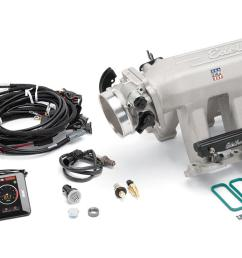 edelbrock pro flo 4 xt efi systems 35720 free shipping on orders over 99 at summit racing [ 1600 x 737 Pixel ]