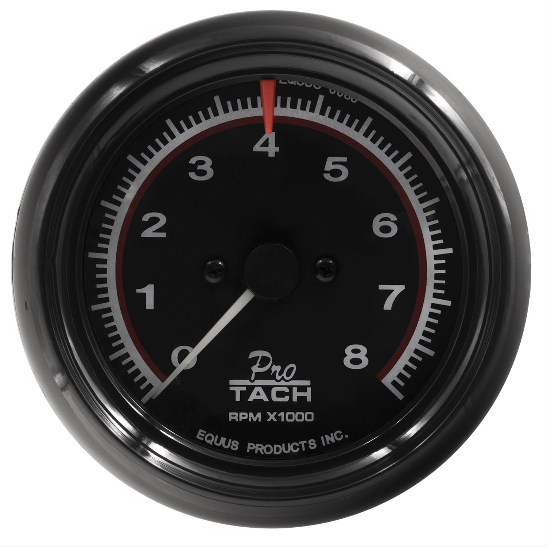 rpm tachometer wiring diagram 2002 jetta starter equus 6088 6000 series 8000 3 8in dia